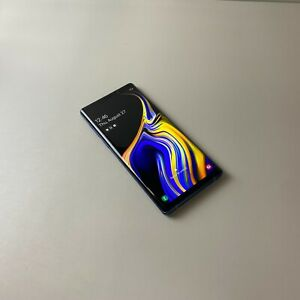 Samsung Galaxy Note9 SM-N960N 512GB Blue Factory Unlocked Very Good condition