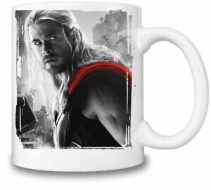 Chris Hemsworth Thor themed 11oz Ceramic coffee Mug Birthday gift.
