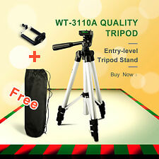 50% off Universal Digital Camera Camcorder Adjustable Tripod Stand+Carry Case AU