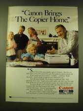 1990 Canon PC Personal Copiers Ad - Jack Klugman - Canon brings the Copier