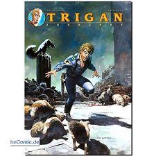 TRIGAN 10 minacce HC Don Lawrence triganische fantascienza COMIC PANINI