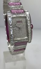 EBEL VANUA 18K WHITE FOLD FULL PAVE DIAMOND LADY'S WATCH NEW! $170,600 RETAIL!!