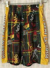 Flow Society Boy's Supreme Rasta Certified Lacrosse Gear Shorts~Small S