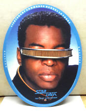 "1996 Star Trek:Next Gen Geordi LaForge 10"" Mousepad- Unused- Free S&H (C6087)"