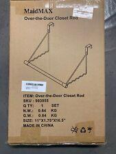MaidMAX Over-the-Door Closet Rod