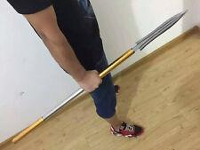 Handmade Sturdy Chinese Wushu KungFu Spear Dao Sharp Manganese Steel Blade