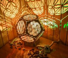 "Interior Smart LED Lamp ""Flower Of Life reincarnation"" sacreed geometry light"