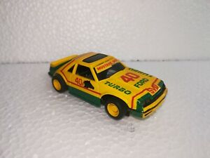 Vintage HO Slot car TYCO FORD MUSTANG TURBO #40!!!