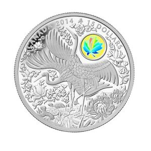 Maple of Longevity - 2014 Canada 1oz Pure Silver Coin - Royal Canadian Mint