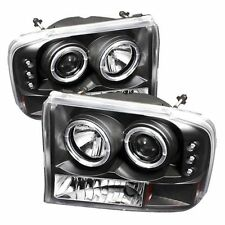 Spyder 5010339 PRO-YD-FF25099-1P-G2-BK Projector Headlights Vers 2 Halo LED Blk