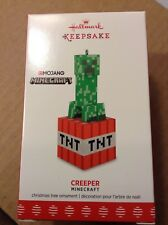 NEW~MINECRAFT CREEPER TNT Ornament~HALLMARK 2017~Mojang PC/Video Game Character