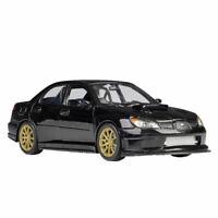 1:24 Scale Subaru Impreza Wrx STI Racing Car Model Diecast Gift Black Collection