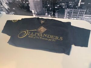 Original Harry Potter T-Shirt XS (X-Small) Black Ollivanders 100% Cotton