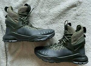 Nikelab ACG Air Zoom Tallac Flyknit Boot Green size 9 865947 002