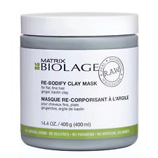MATRIX Biolage R.A.W Uplift Re-Bodify Clay Mask 400ml For Fine Flat Hair