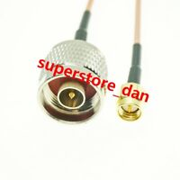 N male to SMA male straight RF RG316 Pigtail Cable Antenna Adapter Wifi