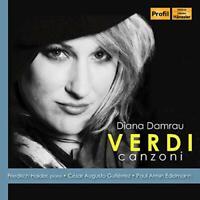 Diana Damrau - Verdi: Canzoni [Diana Damrau; Paul Armin Edelmann; [CD]