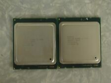 Matched Pair Intel Xeon E5-2690 2.9GHz Eight Core CPU Processor SR0L0