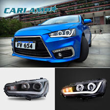 LED Headlights For Mitsubishi Lancer / EVO X 2008-2017 DRL Front Lights H/L Beam