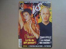 SMALLVILLE VS. CHARMED Tom Welling Michael Rosenbaum SPECIAL magazine +4 Posters