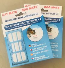 Pet mate Filter Cartridges For The Pet  Drinking Fountain x4 Filters