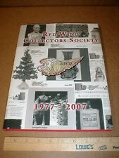 Red Wing Pottery Stoneware collectors society history new book 30 years of RWCS