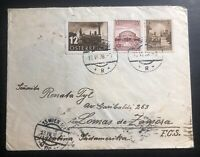 1938 Occupied Vienna Austria Germany Censored Cover To Lomas Zamora Argentina