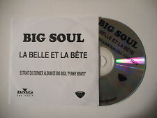 BIG SOUL : LA BELLE ET LA BETE ♦ CD SINGLE PORT GRATUIT ♦