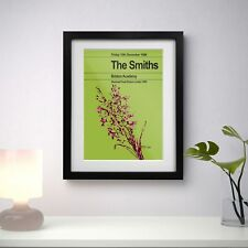 More details for the smiths 1986 last concert three print options or framed poster exclusive