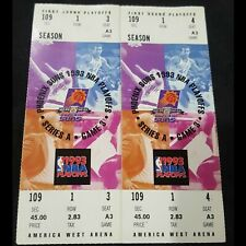 1993 NBA FIRST ROUND PLAYOFFS PHOENIX SUNS VS. LA LAKERS (2) GAME 5 FULL TICKETS