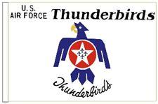 USAF Thunderbirds Vorführmodell Geschwader Arm Flagge für Boote 45cm X 30cm