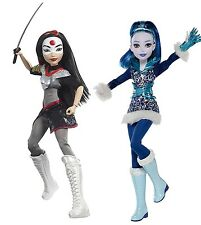 "DC Super Hero Girls Katana and Frost 12"" Inch Dolls Mattel"