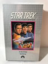 Star Trek Collectors Edition VHS New Sealed Mark Of Gideon Wink of An Eye