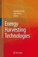 Energy Harvesting Technologies by Shashank Priya (2008, Hardcover)