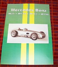 MERCEDES BENZ W25 W154 W163 W196 MAGAZINE ARTICLE REPRINT BOOK UMB.