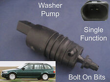 Front or Rear Windscreen Washer Pump BMW 3Series Touring Estate E46 1998 to 2005