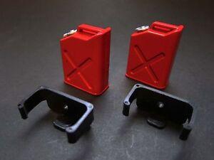 *SALE* RC 1/10 mini fuel tanks with brackets  2pcs Axial SCX10  Tamiya CC01  S21