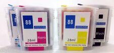 NON-OEM Refillable Ink Cartridges For HP88 K5400 K550