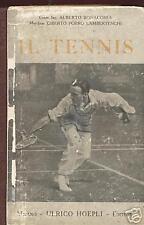 IL TENNIS-MANUALE HOEPLI-ANNO 1927
