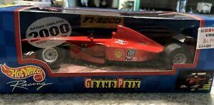Ferrari Michael Schumacher FormulaOne F1 Grand Prix Car 2000 Hot Wheels 1/24 NIB
