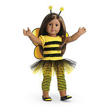 "American Girl MY AG BEE MYSELF OUTFIT for 18"" Dolls NEW Black Yellow Retired"