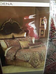 Croscill Roena King Comforter Set, 4 Pieces, NEW