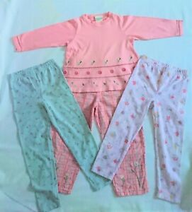 Vintage Laura Ashley girls top & trousers/leggings bundle