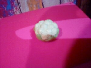 Food accessory CAULIFLOWER for Barbie by Mattel. 1/6 scale pre-owned
