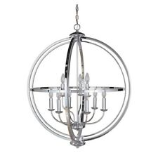 Craftmade Berkeley 9 Light Foyer, Chrome - 40139-CH