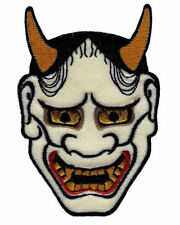 Cypress Collectibles CYP-02709 Japanese Hannya Mask Embroidered Kabuki Demon Oni Noh Devil Iron-on Patch