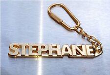 Edler SchlÜsselanhÄnger Stephane Vergoldet Gold Name Keyring Weihnachtsgeschenk Schlüsselanhänger Luxus-accessoires