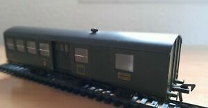Voiture fleischmann mixte 2 ème classe/fourgon, 3 essieux SNCF.