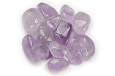 """1 lb Wholesale Tumbled Amethyst - """"A"""" Grade - Crystal Healing, Reiki, Wicca"""
