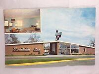 VINTAGE POSTCARD- Candlelite Inn Motel 803 N. 3rd St Terre Haute Indiana Free TV